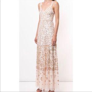 Needle & Thread Pink Ballet Sequin Gown